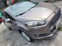 Grey Ford Fiesta 2017 for sale in Automatic