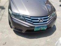 Selling Grey Honda City 2013 in Manila