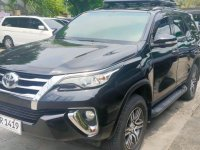 Selling Black Toyota Fortuner 2017 in Pasig