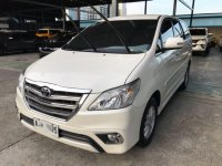 Pearl White Toyota Innova 2015 for sale in Pasig