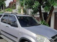 Silver Honda CR-V 2004 for sale in Quezon