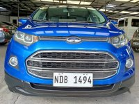 Selling Blue Ford Ecosport 2016 in Las Piñas