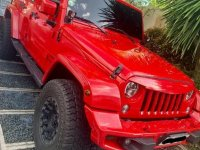 Sell Red 2018 Jeep Wrangler in Biñan