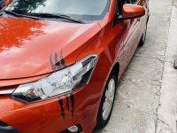 Orange Toyota Vios 2017 for sale in Marikina
