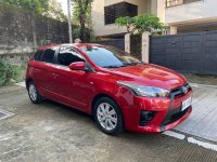 Selling Red Toyota Yaris 2016 in Quezon City