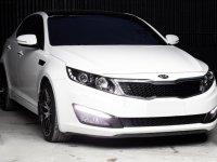 Pearl White Kia Optima 2014 for sale in Automatic