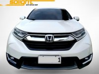 Selling White Honda CR-V 2018 in Quezon