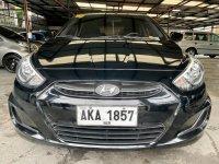 Black Hyundai Accent 2015 for sale in Las Piñas