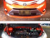 Selling Orange Toyota Vios 2016 in Marikina