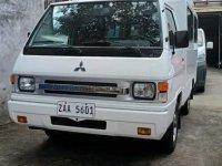 White Mitsubishi L300 2017 for sale in Quezon City