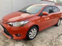 Selling Orange Toyota Vios 2018 in Taal
