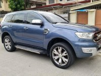 Selling Blue Ford Everest 2016