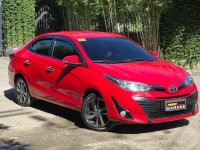 Selling Red Toyota Vios 2020 in Quezon