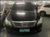 Black Toyota Innova 2013 for sale in Makati