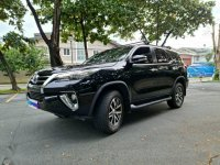 Selling Black Toyota Fortuner 2016 in Pateros