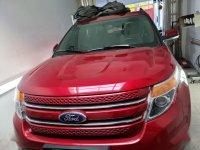 Red Ford Explorer 2014 for sale in Pasig