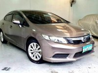 Sell Brown 2012 Honda Civic in Quezon City