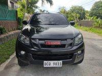 Black Isuzu D-Max 2016 for sale in La Carlota