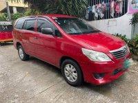 Red Toyota Innova 2014 for sale in Manila
