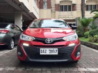 Selling Red Toyota Vios 2019 in Manila