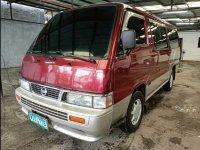 Selling Red Nissan Urvan 2013 Van Manual