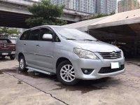 Brightsilver Toyota Innova 2012 for sale in Makati