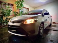 Pearl White Toyota Vios 2016 for sale in Quezon