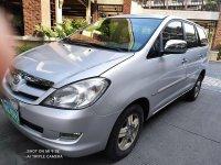 Pearl White Toyota Innova 2008 for sale in Quezon