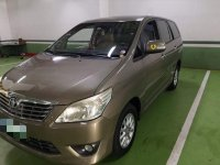 Selling Beige Toyota Innova 2013 in Parañaque