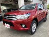 Sell Red 2016 Toyota Hilux