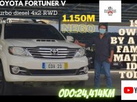 White Toyota Fortuner 2016 for sale in Pasay