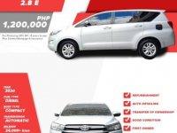 Pearl White Toyota Innova 2020 for sale in Quezon