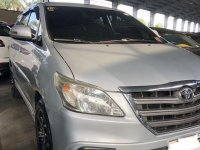 Selling Brightsilver Toyota Innova 2016 in Pasig