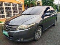 Silver Honda City 2009 for sale in Quezon