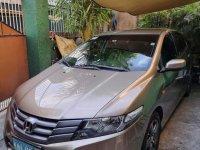 Beige Honda City 2010 for sale in Quezon