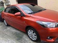Orange Toyota Vios 2016 for sale in Quezon