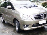 Selling Brightsilver Toyota Innova 2012 in Pasay