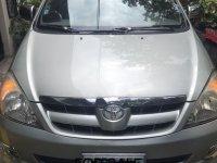 Brightsilver Toyota Innova 2007 for sale in Quezon