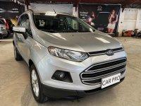 Selling Silver Ford Ecosport 2016 in San Fernando