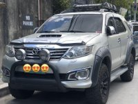 Sell Silver 2012 Toyota Fortuner in Caloocan