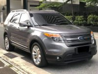 Grey Ford Explorer 2013 for sale in Makati