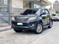 Black Toyota Fortuner 2013 for sale in Automatic