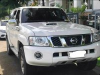 Pearl White Nissan Patrol 2016 for sale in Pateros
