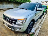 Silver Ford Ranger 2014 for sale in Manual