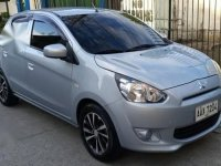 Selling Silver Mitsubishi Mirage 2014 in Quezon City