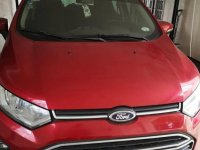 Selling Red Ford Ecosport 2015 in Pasig