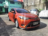 Orange Toyota Vios 2016 for sale in Pasay