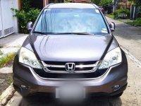 Sell Grey 2010 Honda Cr-V in Parañaque