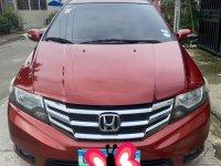 Selling Red Honda City 2012 in Baliuag