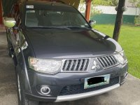 Sell Grey 2012 Mitsubishi Montero in Bacoor